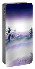 Snowstorm In Catskill Ipad Version Portable Battery Charger by Frank Bright