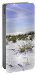 Snowy Dunes Portable Battery Charger