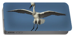 Portable Battery Charger featuring the photograph Snowy Egret Photo by Meg Rousher