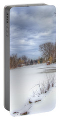 Snowy Lake Portable Battery Charger