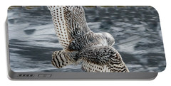 Snowy Owl Wingspan Portable Battery Charger