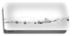 Portable Battery Charger featuring the photograph Snowy Panorama by Liz Leyden