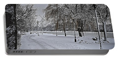 Portable Battery Charger featuring the photograph Snowy River by Deborah Klubertanz