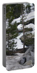 Portable Battery Charger featuring the photograph Snowy Sierras by Bobbee Rickard