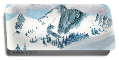 Snowy Wasatch Peak Portable Battery Charger