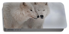 Portable Battery Charger featuring the photograph Snuggle Buddies by Bianca Nadeau