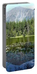 Portable Battery Charger featuring the photograph Snyder Lake Reflection by Kerri Mortenson