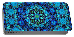 So Blue - 33 - Mandala Portable Battery Charger