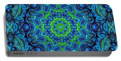 So Blue - 43 - Mandala Portable Battery Charger