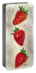 So Juicy Portable Battery Charger by Angela Davies