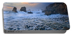 Soberanes Sunset - Garrapata State Park In California. Portable Battery Charger