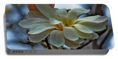 Soft Blooms Portable Battery Charger by Rowana Ray