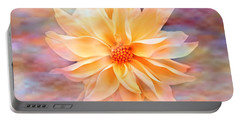 Portable Battery Charger featuring the photograph Soft Delightful Dahlia by Judy Palkimas