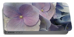 Soft Hydrangea  Portable Battery Charger by Caryl J Bohn