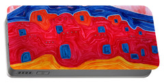Soft Pueblo Original Painting Portable Battery Charger