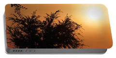 Soft Sunrise Portable Battery Charger by Meghan at FireBonnet Art
