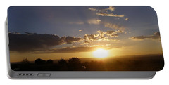 Solar Eclipse Sunset Portable Battery Charger