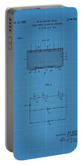 Solar Panel Blueprint Patent Portable Battery Charger