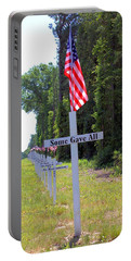 Portable Battery Charger featuring the photograph Some Gave All by Gordon Elwell
