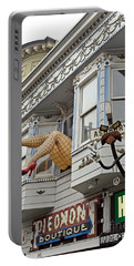 Portable Battery Charger featuring the photograph Something To Find Only The In The Haight Ashbury by Jim Fitzpatrick