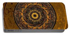 Song Of Heaven Mandala Portable Battery Charger