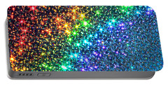 Song Of The Stars Portable Battery Charger by Dazzle Zazz