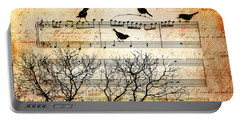 Songbirds Portable Battery Charger by Gary Bodnar