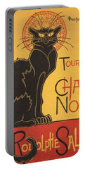 Soon The Black Cat Tour By Rodolphe Salis  Portable Battery Charger