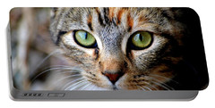 Portable Battery Charger featuring the photograph Soul Cat by Deena Stoddard