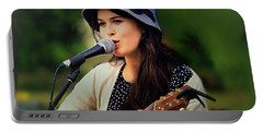 Portable Battery Charger featuring the photograph Soul Sister by Wallaroo Images