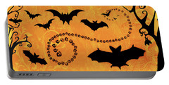Sounds Like Halloween I Portable Battery Charger by Belinda Aldrich