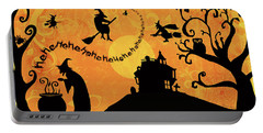 Sounds Like Halloween IIi Portable Battery Charger by Belinda Aldrich