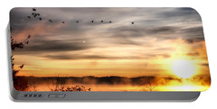 South Carolina Morning Portable Battery Charger by Lynne Jenkins
