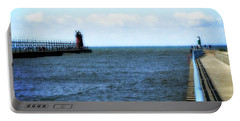 South Haven South Pierhead Light Portable Battery Charger