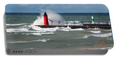 South Haven Splash Portable Battery Charger