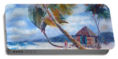 South Pacific Hut Portable Battery Charger