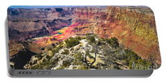 South Rim From The Butte Portable Battery Charger