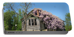 Southern Country Wisteria Portable Battery Charger