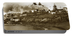 Southern Pacific Del Monte Passenger Train Pacific Grove Circa 1954 Portable Battery Charger