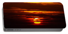 Southern Sunset Portable Battery Charger by Shannon Harrington