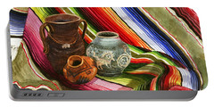 Southwest Still Life Portable Battery Charger by Marilyn Smith