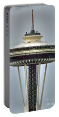Space Needle Tower Seattle Washington Portable Battery Charger