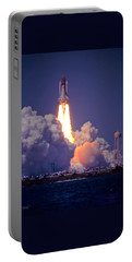 Space Shuttle Challenger Sts-6 First Flight 1983 Photo 1  Portable Battery Charger