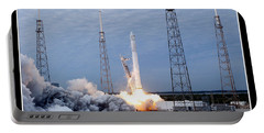 Spacex-2 Mission Launch Nasa Portable Battery Charger