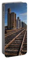 Spangle Grain Elevator Color Portable Battery Charger