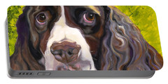 Spaniel The Eyes Have It Portable Battery Charger