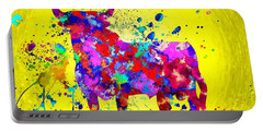 Spanish Bull Portable Battery Charger by Daniel Janda