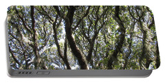 Spanish Moss Oak Portable Battery Charger