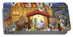 Spanish Nativity Portable Battery Charger