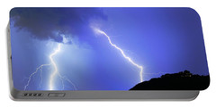 Spectacular Double Lightning Strike Portable Battery Charger